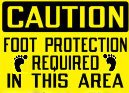 FOOT PROTECT SIGN