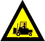 beware forklifts